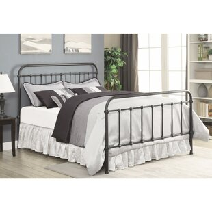 Otteridge Metal Queen Panel Bed by Gracie Oaks Today Sale Only