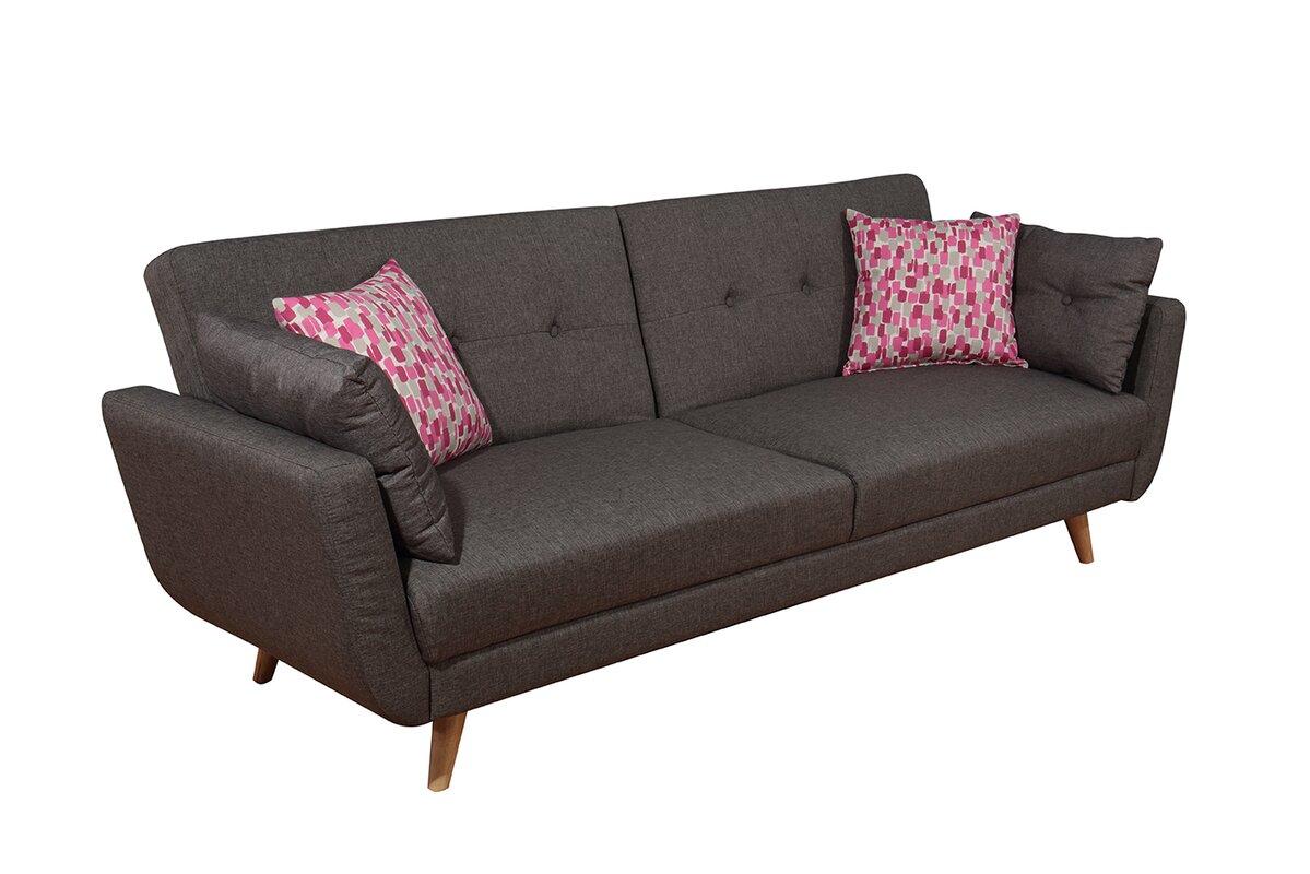3 Seater Sofa Bed Kyoto Oslo 3 Seater Sofa Bed Reviews Wayfaircouk