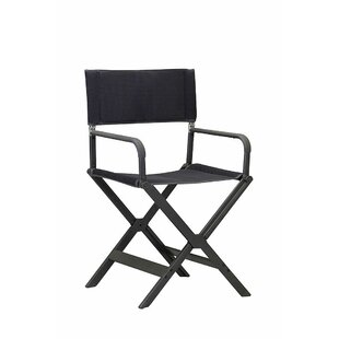 Castelnaud Reclining/Folding Director Chair By Sol 72 Outdoor