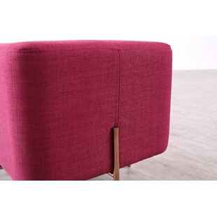 Trotter Cube Ottoman by Everly Quinn