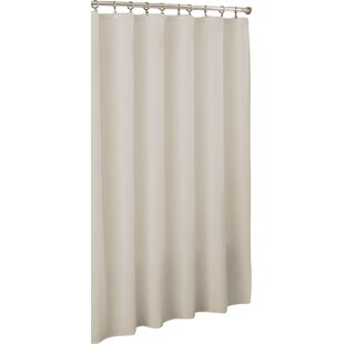 Vinyl Mildew Resistant Single Shower Curtain Liner By Symple Stuff