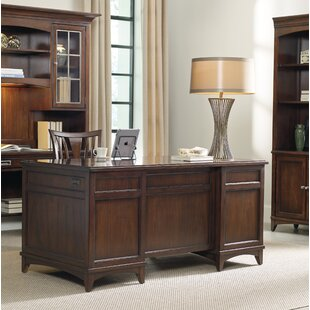Latitude Solid Wood Executive Desk by Hooker Furniture