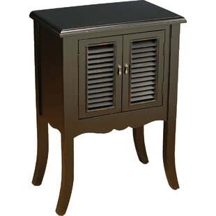 Chenery Shutter 2 Door Accent Cabinet by August Grove