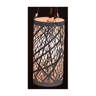 Claraville 1-Light Outdoor Pendant by Wade Logan Looking for
