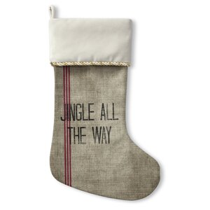 Jingle All The Way Christmas Stocking