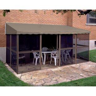 Add-A-Room 15 Ft. W X 8 Ft. D Aluminum Patio Gazebo By Gazebo Penguin