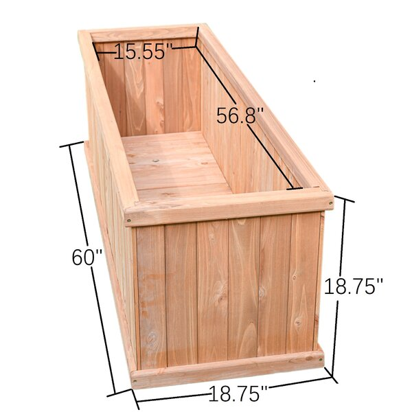 Winston Porter Foxburg Wood Planter Box Reviews Wayfair Ca