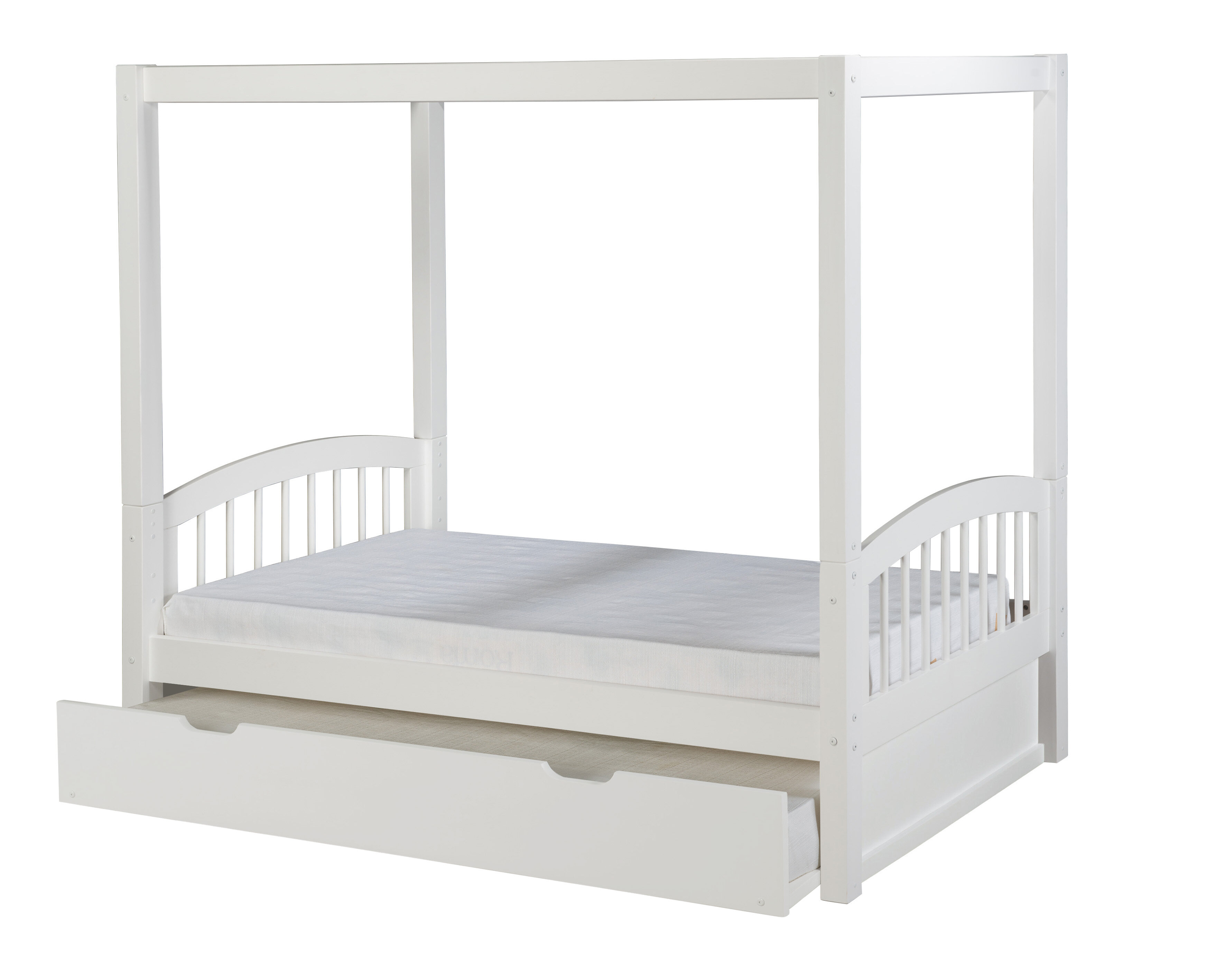Canopy Bed With Trundle