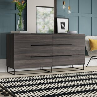 Mraz 6 Drawer Double Dresser