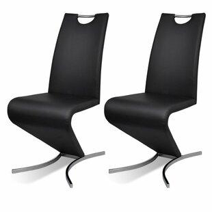 Adamsville Upholstered Dining Chair (Set of 2) by Orren Ellis