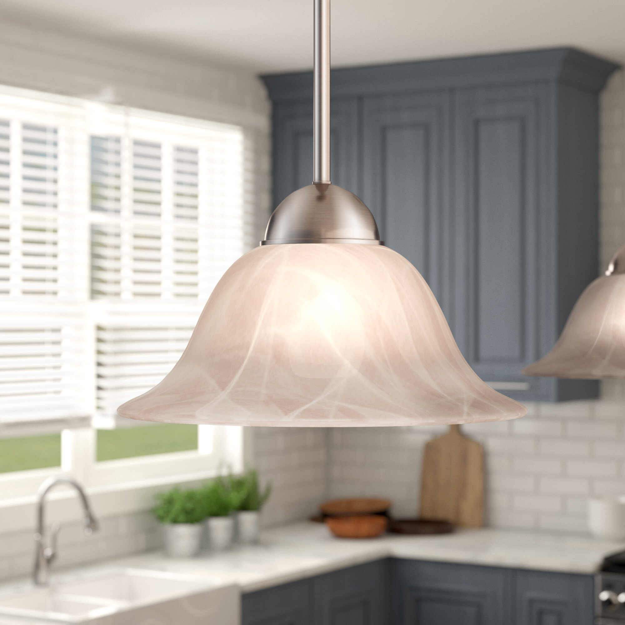 Picture of: Brushed Nickel Pendant Lighting You Ll Love In 2020 Wayfair