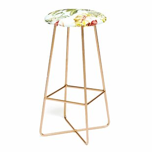Marta Barragan Camarasa Botanical Jungle Bouquets I 25 Bar Stool East Urban Home