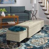 Hirsh 3 Piece Storage Ottoman Set by Andover Mills™