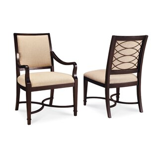 Andraid Upholstered Dining Chair (Set of 2) Canora Grey