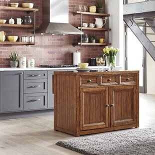 Milford Kitchen Island Canora Grey