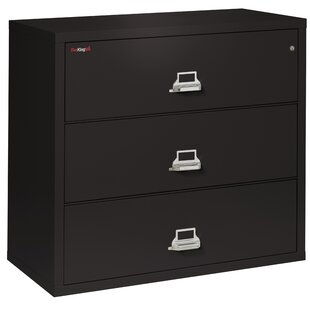 FireKing 3-Drawer Lateral File Cabinet