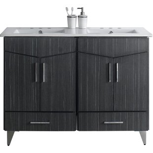 Dunand 48 Double Bathroom Vanity Set by Royal Purple Bath Kitchen