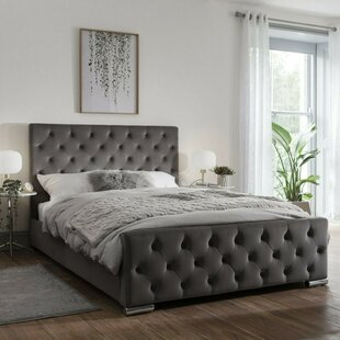 Review Gunner Upholstered Bed Frame