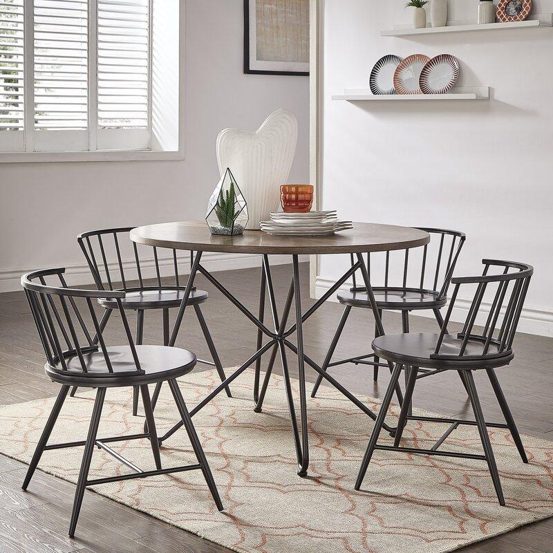 Stupendous Charleigh 5 Piece Dining Set Interior Design Ideas Helimdqseriescom