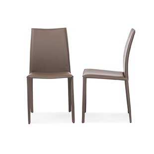 Julianne Bonded Upholstered Dining Chair (Set of 2) 17 Stories