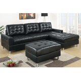 110 Reversible Sectional with Ottoman by Wade Logan®