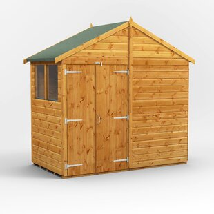 8 Ft. W X 4 Ft. D Solid Wood Garden Shed By WFX Utility