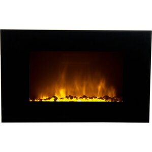 Oslo Wall Mount Electric Fireplace by Warm House