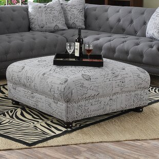 Morvant Cocktail Ottoman by Lark Manor