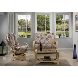 Review Michaela 3 Piece Conservatory Sofa Set