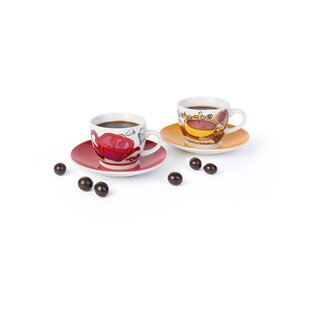 Time 6 Piece Coffee Cup Set