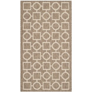 Jefferson Place Brown / Bone Indoor/Outdoor Area Rug