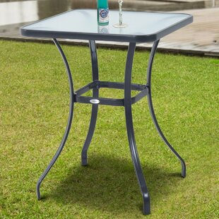 Vaughan Metal Bar Table By Sol 72 Outdoor