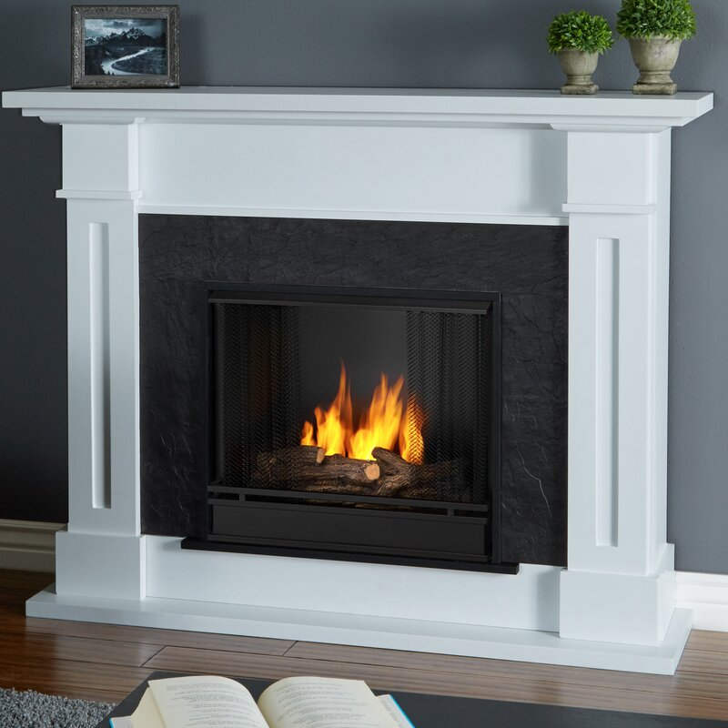 Electric Fireplace real flame electric fireplace : Real Flame Kipling Gel Fuel Fireplace & Reviews | Wayfair