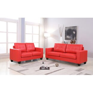 Gish 2 Piece Living Room Set by Ebern Designs