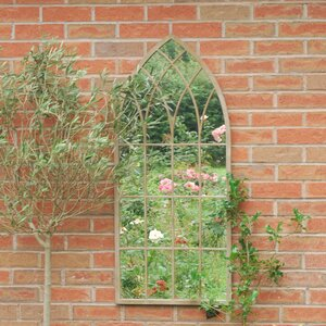 Mirror Round Gothic Window