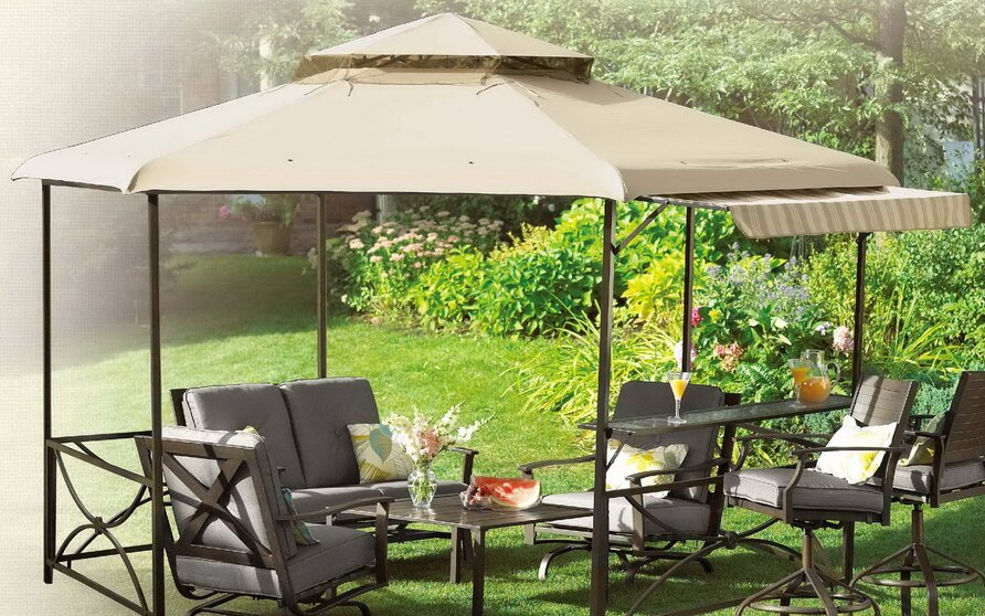 Replacement Canopy for Hexagon Gazebo : smith and hawken gazebo replacement canopy - memphite.com