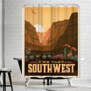 Macys Southwest Single Shower Curtain