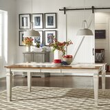 Terrones Solid Wood Dining Table by Charlton Home®