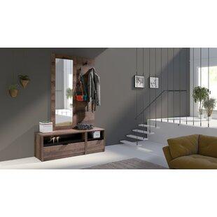 Olcay2 Door Sliding Wardrobe By Ebern Designs