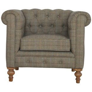 Chesterfield Single Seater Armchair  sc 1 st  Wayfair & Single Arm Chairs | Wayfair.co.uk