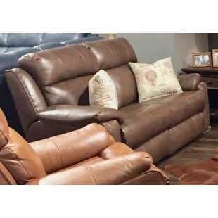 Southern Motion Blue Ribbon Leather Reclining Loveseat
