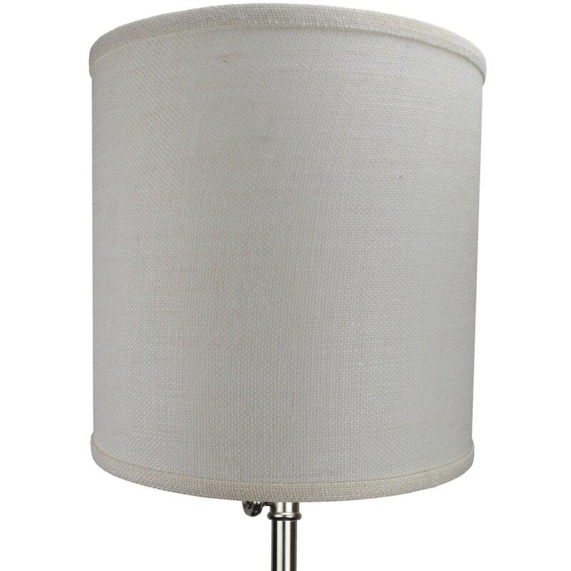 Fenchel shades 12 burlap drum lamp shade reviews wayfair 12 burlap drum lamp shade mozeypictures Choice Image