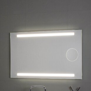WS Bath Collections Okkio Lighted LED Wall Mirror