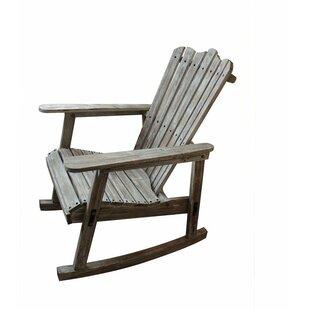 Kenton Wood Rocker Adirondack Chair