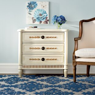 Siple 3 Drawer Fluted Base Chest by Darby Home Co