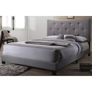 Keegan Queen Upholstered Panel Bed by Ebern Designs Today Sale Only