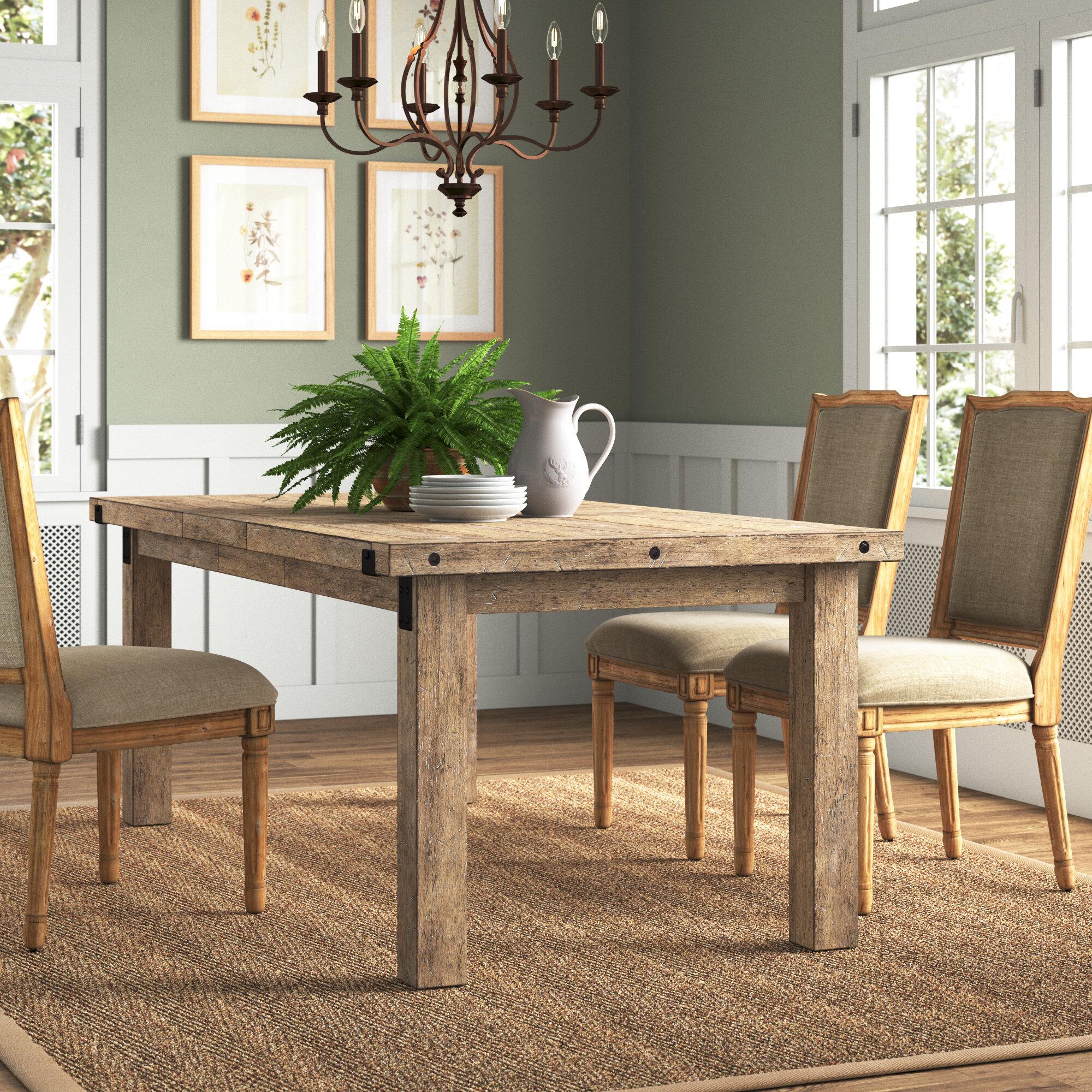 Laurel Foundry Modern Farmhouse Fort Oglethorpe Extendable Dining Table Reviews Wayfair Ca