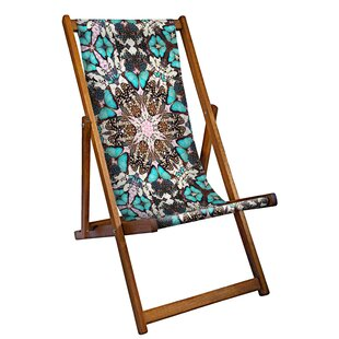Plympt Reclining Deck Chair By World Menagerie