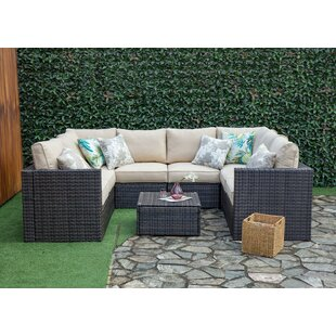 Sowa Outdoor 8 Piece Sectional Seating Group with Cushions