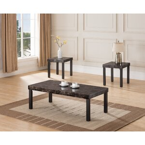 Littleton 3 Piece Coffee Table Set by Winston Porter
